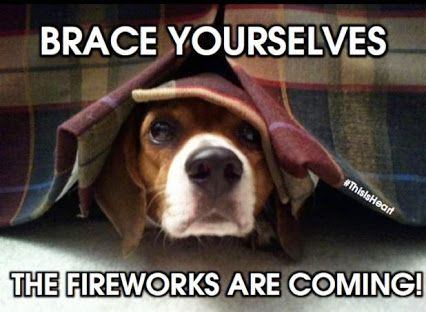 Brace yourselves the fireworks are coming